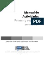 Manual de Actividades 1er. y 2do. semestres de Acción Tutorial