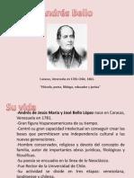 LITERATURA HISPANOAMERICANA I (Andrés Bello).pptx