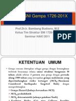 SNI-03-1726-2012