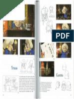 THE ART OF SPIRITED AWAY- Hayao Miyazaki (1 page)