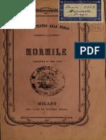 Mormile; Libretto in Tre Atti Gaetano Braga (1862)