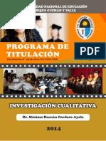 Investigacion Cualitativa 2014 2