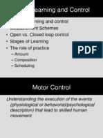 Motor Behav