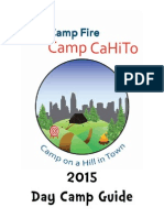 Camp CaHiTo Parent Guide Book 2014