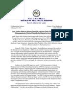 OSA Press Release HSD Financial Audit 2-27-14