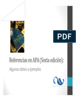 referencias APA 6th Edicion