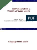 Nlp Programming en 01 Unigramlm