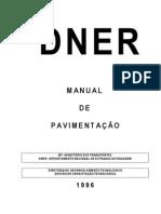 DNER - Manual de Pavimentação