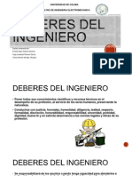Deberes Del Ingeniero