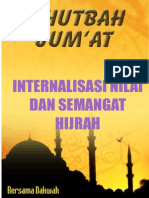 hutbahJumat17-InternalisasiNilaidanSemangatHijrah