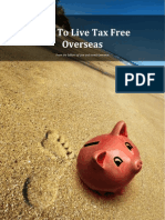 How to Live Tax Free Overseas