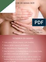 CANCER DE MAMAS HOY OCTUBRE 2013.pptx