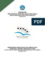 Panduan Penyusunan Proposal Bantuan Sosial Dpks 2014 Cetak