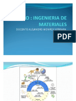 Curso Ingenieria de Materiales- Introduccion