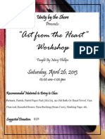 """""""Art From the Heart"""" Workshop"""