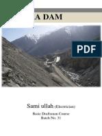Satpara Dam Project Report