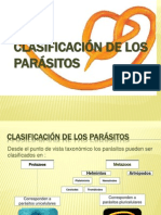 taxonomia parasitos
