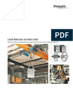 Load Detection on Hoist Units