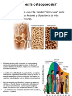 Qué es la osteoporosis