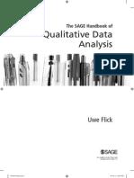 3 Semana Uwe Flick 2014 the SAGE HB of Qualitative Data Analysis Introducao