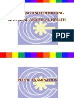 Assessing and Promoting Maternal and Fetal Health