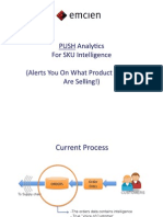 Emcien Push Analytics For SKU Intelligence