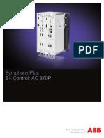 Symphony Plus s Control Ac870p