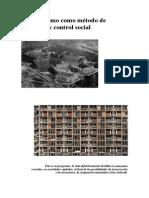 Urbanismo Como Metodo de Control