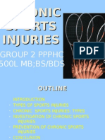 Chronic Sports Injuries