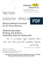 Barnes Method English Specialist @ Rodivaldo Marcelo Raimundo