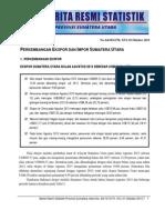 Berita Resmi BPS Sumut Bulan Agustus 2013