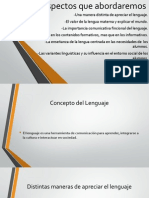 La variación y la lengua materna