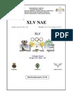 XLV NAE - 2013