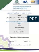 ACTIVIDAD 2.- HERRAMIENTAS DE ADMINISTRACIÓN MÁS RECIENTES RELACIONADOS CON SGBD