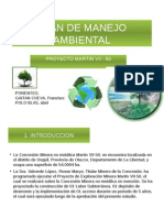 Plan Manejo Ambiental