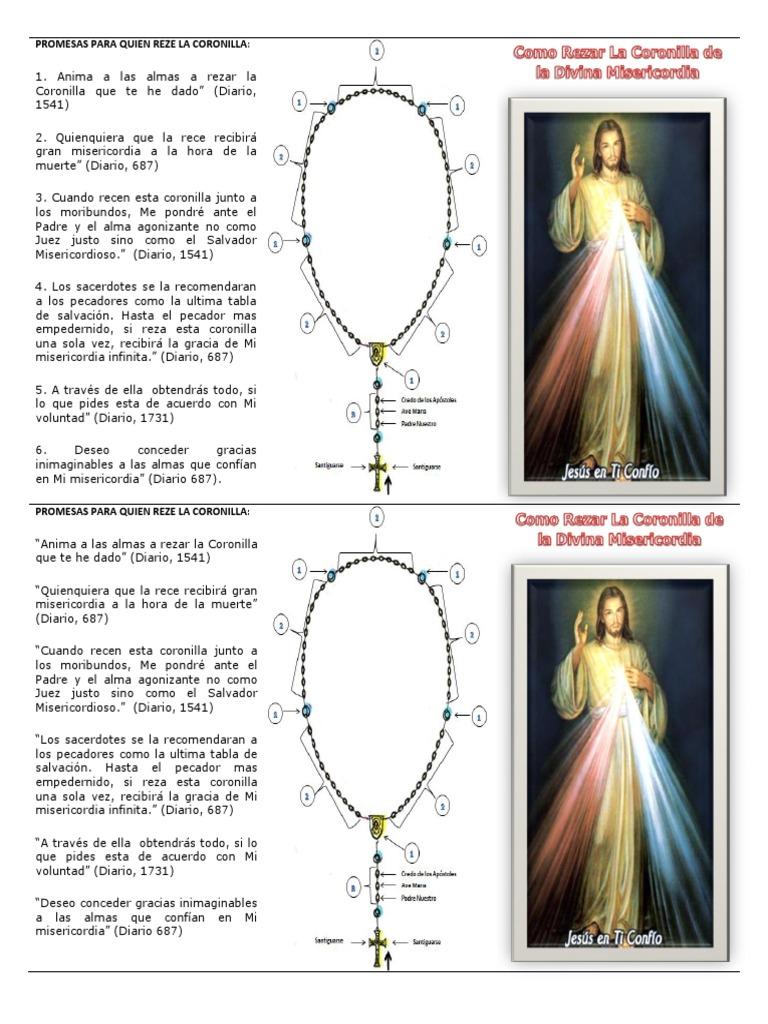 Como Rezar La Coronilla De La Divina Misericordia María Madre De Jesús Orador Del Señor