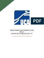 Reglamento Agility UCA