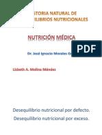 Historia Natural de Desequilibrios Nutricionales!!