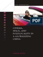 Cinema Space and Polylocality in a Globalizing China