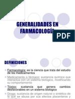Generalidades y Formas Farmaceuticas