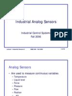 Industrial Analog Sensors
