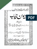 Divan e Nayab - Maulvi Hakeem Muhammad Hadi Hasan Khan Nayab