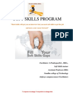 Soft Skills Training Module