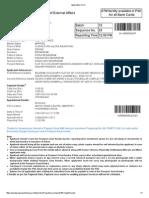 Application Form of Dewasi Besararam