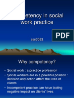 Competency in Social Work Practice1