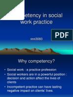 Competency in Social Work Practice1