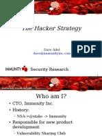 DaveAitel_TheHackerStrategy2