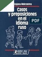 34.Casos y Preposiciones Del Idioma Ruso