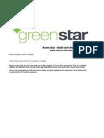 Green Star - Multi Unit Residential v1 Scorecard_upload_17012014