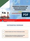 10 Pembinaan Pendidik Dan Tenaga Kependidikan Pendidikan Dasar Melalui Integrasi Proses Dan Berbagi Sumber Daya, Paparan Sesditjen Di Rakor BPSDMPnPMP